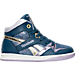 Right view of Girls' Preschool Reebok Street Stud Casual Shoes in BLU
