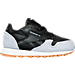 Right view of Boys' Toddler Reebok Classic Leather - Perfect Split Casual Shoes in BLK