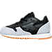 Left view of Boys' Toddler Reebok Classic Leather - Perfect Split Casual Shoes in BLK