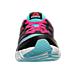 Front view of Girls' Grade School Reebok TwistForm Blaze 2.0 Fade Running Shoes in Crisp Blue/Rose Rage/Black/White