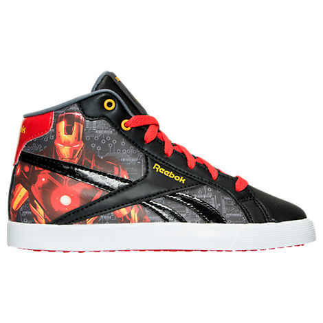 Boys' Preschool Reebok Marvel Iron Man Running Shoes