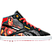 Right view of Boys' Preschool Reebok Marvel Iron Man Running Shoes in Red/Black/White