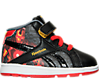 Boys' Toddler Reebok Marvel Iron Man Velcro Running Shoes