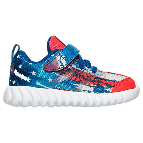 Boys' Toddler Reebok Twist Marvel Captain America Running Shoes