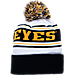 Back view of Zephyr Iowa Hawkeyes College Arctic Knit Hat in Team Colors