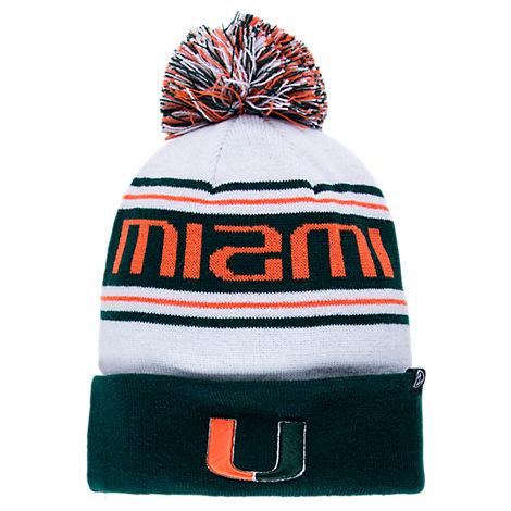 Zephyr Miami Hurricanes College Arctic Knit Hat