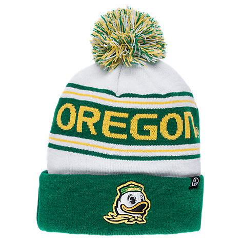 Zephyr Oregon Ducks College Arctic Knit Hat