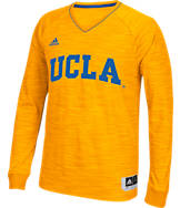 Men's adidas UCLA Bruins College Long Sleeve Shooter Shirt
