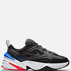 나이키 맨 Mens Nike M2K Tekno Casual Shoes,Dark Grey/Black/Baroque Brown/Race Blue