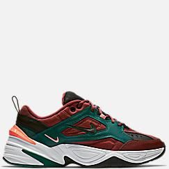 나이키 맨 Mens Nike M2K Tekno Casual Shoes,Pueblo Brown/Black/Rainforest
