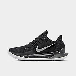 나이키 맨 Mens Nike Kyrie Low 2 Basketball Shoes,Black/Metallic Silver
