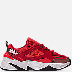 Womens 나이키 Nike M2K Tekno Suede Casual Shoes,University Red/Bright Crimson/Phantom