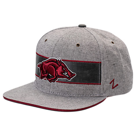 Zephyr Arkansas Razorbacks College Avenue Snapback Hat