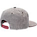 Back view of Zephyr Arkansas Razorbacks College Avenue Snapback Hat in Team Colors