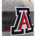 Alternate view of Zephyr Arizona Wildcats College Avenue Snapback Hat in Team Colors