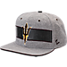 Front view of Zephyr Arizona State Sun Devils College Avenue Snapback Hat in Team Colors