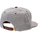 Back view of Zephyr Arizona State Sun Devils College Avenue Snapback Hat in Team Colors