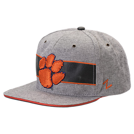 Zephyr Clemson Tigers College Avenue Snapback Hat