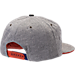 Back view of Zephyr Clemson Tigers College Avenue Snapback Hat in Team Colors