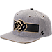 Front view of Zephyr Colorado Buffaloes College Avenue Snapback Hat in Team Colors