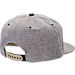 Back view of Zephyr Colorado Buffaloes College Avenue Snapback Hat in Team Colors