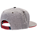 Back view of Zephyr Houston Cougars College Avenue Snapback Hat in Team Colors