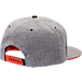Back view of Zephyr Illinois Fighting Illini College Avenue Snapback Hat in Team Colors