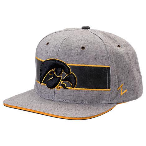 Zephyr Iowa Hawkeyes College Avenue Snapback Hat