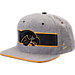 Front view of Zephyr Iowa Hawkeyes College Avenue Snapback Hat in Team Colors