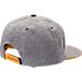 Back view of Zephyr Iowa Hawkeyes College Avenue Snapback Hat in Team Colors