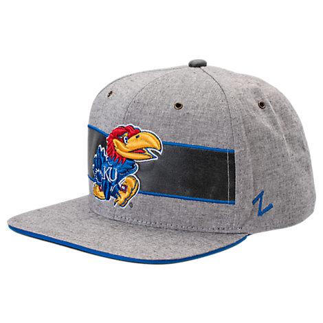 Zephyr Kansas Jayhawks College Avenue Snapback Hat
