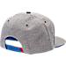 Back view of Zephyr Kansas Jayhawks College Avenue Snapback Hat in Team Colors