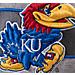 Alternate view of Zephyr Kansas Jayhawks College Avenue Snapback Hat in Team Colors