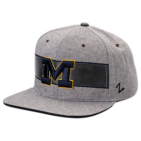 Zephyr Michigan Wolverines College Avenue Snapback Hat