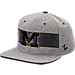 Front view of Zephyr Michigan Wolverines College Avenue Snapback Hat in Team Colors