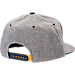 Back view of Zephyr Michigan Wolverines College Avenue Snapback Hat in Team Colors