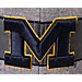 Alternate view of Zephyr Michigan Wolverines College Avenue Snapback Hat in Team Colors