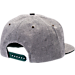Back view of Zephyr Michigan State Spartans College Avenue Snapback Hat in Team Colors