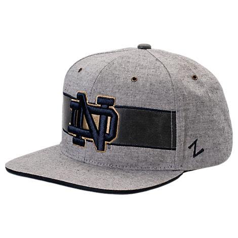 Zephyr Notre Dame Fighting Irish College Avenue Snapback Hat