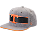 Front view of Zephyr Tennessee Volunteers College Avenue Snapback Hat in Team Colors
