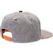 Back view of Zephyr Tennessee Volunteers College Avenue Snapback Hat in Team Colors