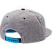 Back view of Zephyr UNC Tar Heels College Avenue Snapback Hat in Team Colors