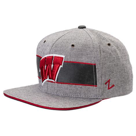 Zephyr Wisconsin Badgers College Avenue Snapback Hat