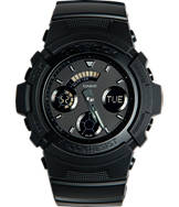 Casio G-Shock Blackout Resin AW591 Watch