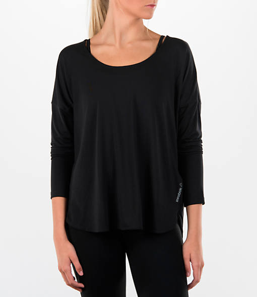 Women's Reebok Studio Lux Long Sleeve Shirt