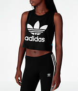 Women's adidas Loose Crop Tank