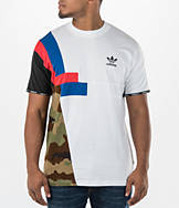 Men's adidas Block Long T-Shirt