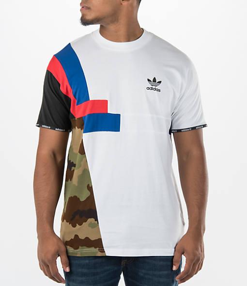 Men's adidas Originals Block Long-Sleeve Shirt