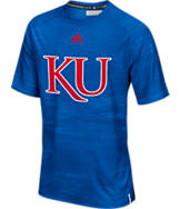 Men's adidas Kansas Jayhawks College Sideline Training T-Shirt