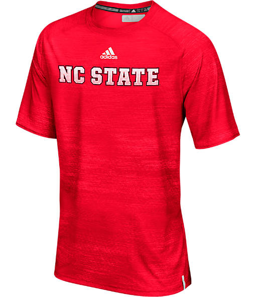 Men's adidas North Carolina State Wolfpack College Sideline Training T-Shirt